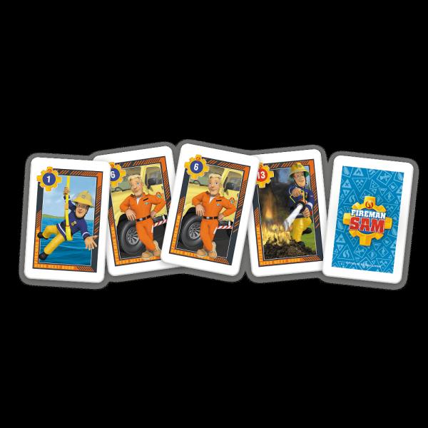 TREFL Gra karty PIOTRUŚ, Strażak Sam (08480)
