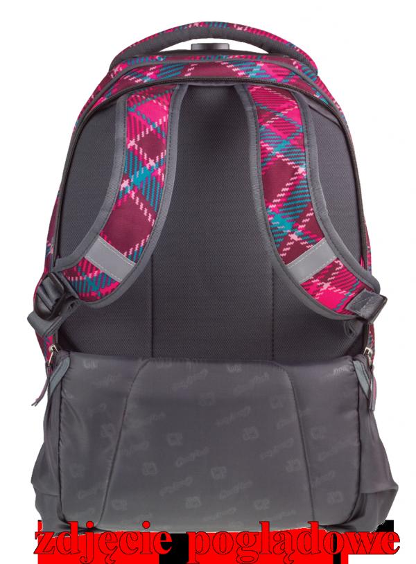 Plecak CoolPack TARGET na kółkach kolorowe kwadraciki, PATCHWORK 1042 (79389)