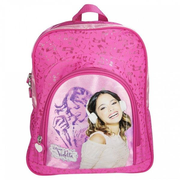 Plecak przedszkolny, wycieczkowy Violetta, licencja Disney (PL12VI12)