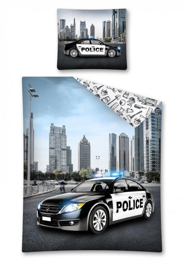 Komplet pościeli pościel POLICJA 140 x 200 cm (2768)