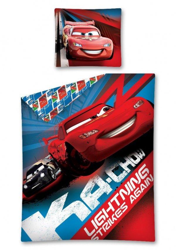 Komplet pościeli pościel Cars Auta 140 x 200 cm (CARS05DC)