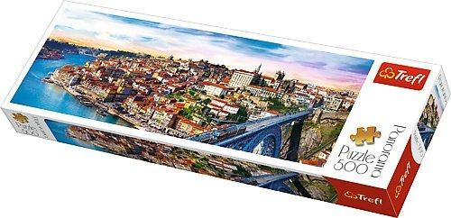 TREFL Puzzle 500 el. PANORAMA Porto, Portugalia (29502)