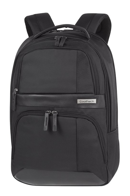 Plecak biznesowy CoolPack TITAN czarny BLACK (12799CP)