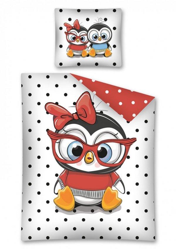 Komplet pościeli pościel PENGUIN Pingwin 160 x 200 cm (2766)