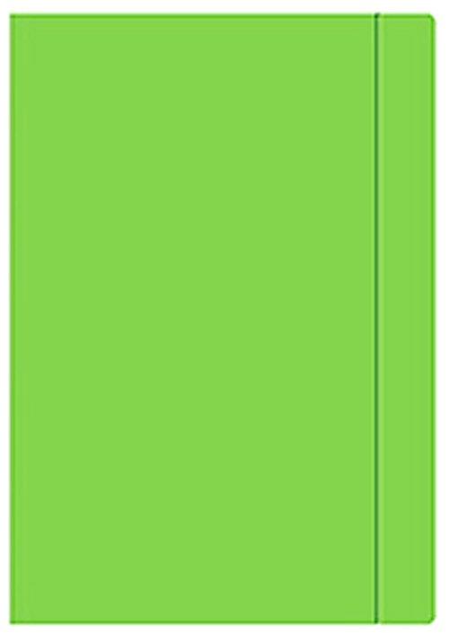 Teczka rysunkowa A3 na gumkę ZIELONA (06565)