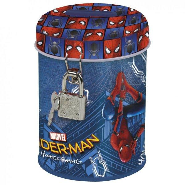 Skarbonka z kłódką SPIDER-MAN HOMECOMING (SKSH10)
