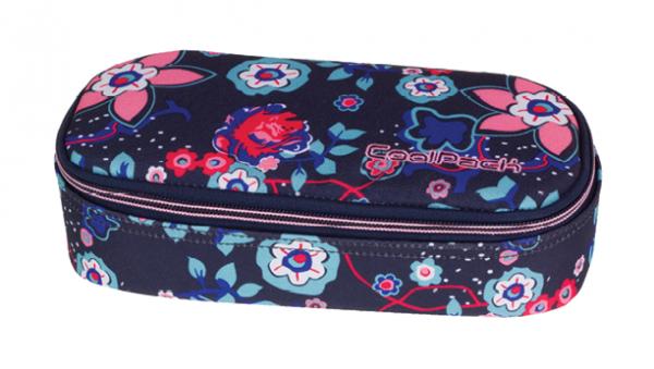 Piórnik CoolPack CAMPUS w kwiaty, BLUISH MEADOW 921 (69724)
