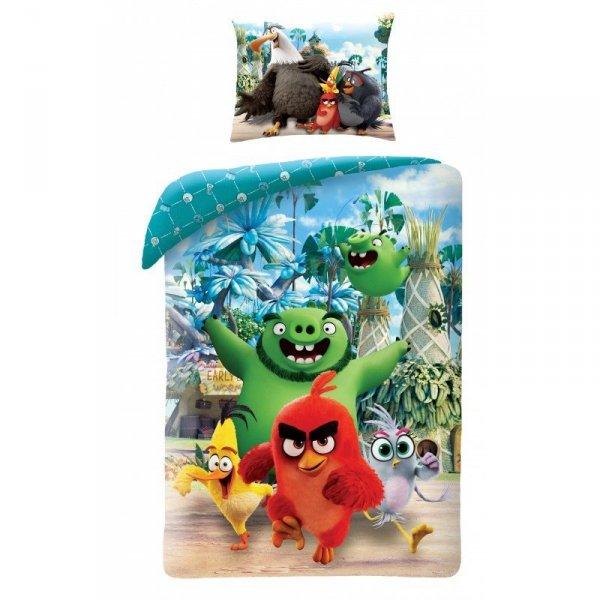 Pościel bawełniana Angry Birds Movie 2 140 x 200 cm (ABM2-101BL)