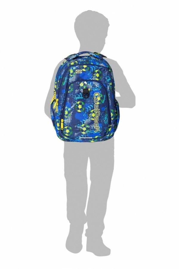 Plecak CoolPack STRIKE L  w kolorowe wzory, GRUNGE TIME (B18035)