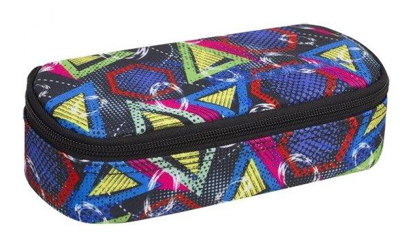 Piórnik CoolPack CAMPUS  kolorowe wzory geometryczne, GEOMETRIC SHAPES (85342CP)