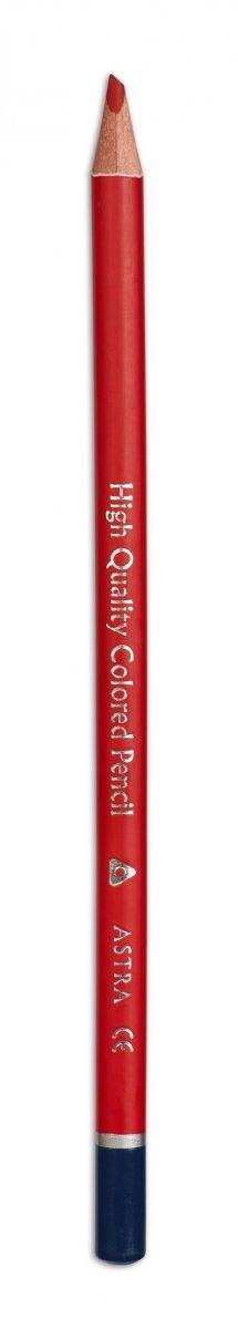 Kredki ołówkowe PRESTIGE w metalowym pudełku 12 kolorów ASTRA (312118008)