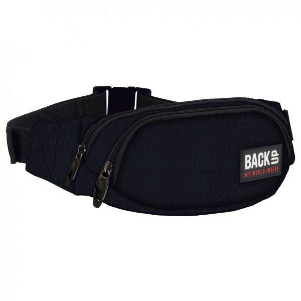SASZETKA NERKA Back UP na pas torba czarny BLACK (TBB1A27)