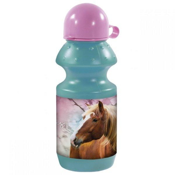 Zestaw bidon i śniadaniówka w kartoniku I Love Horses KONIE (ZSBKO19)