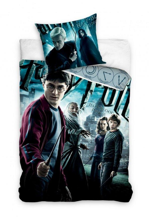 Pościel bawełniana Harry Potter 140 x 200 cm komplet pościeli (HP191132)