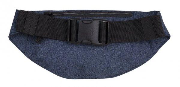 SASZETKA NERKA CoolPack na pas torba MADISON niebieska, SNOW BLUE/SILVER (88633CP)