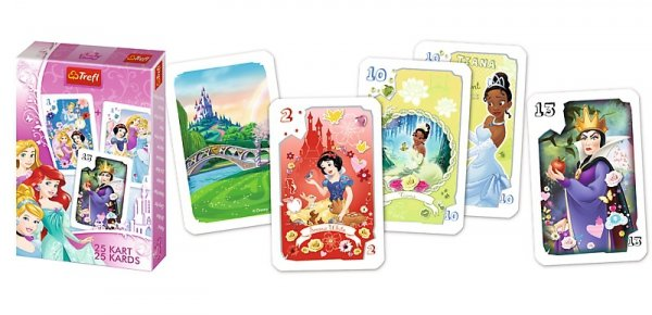 TREFL Gra karty PIOTRUŚ, Księżniczki PRINCESS (08460)
