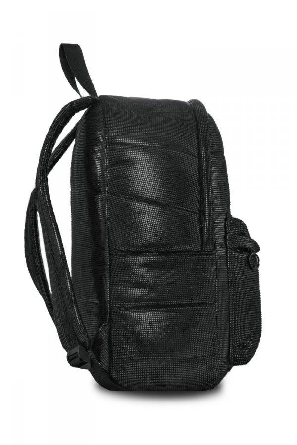 Plecak CoolPack miejski RUBY czarny połysk BLACK GLAM (22790)