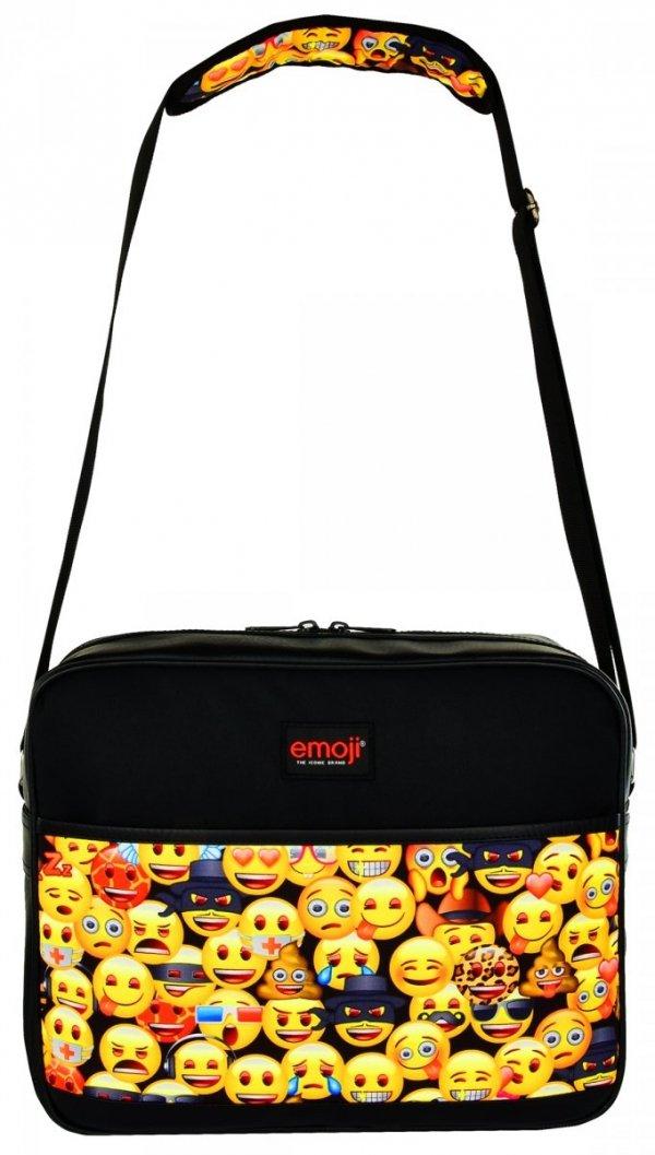 Torba szkolna na ramię, na format A4 młodzieżowa Emoji EMOTIKONY SB2 (42120)