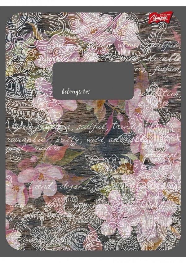 Zeszyt A4 w kratkę 60 kartek, MIX (04002)