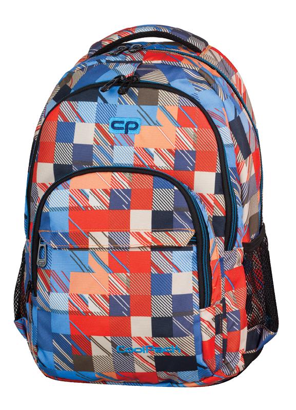 Plecak CoolPack BASIC w kolorowe kwadraty, MOTION CHECK 891 (68987)