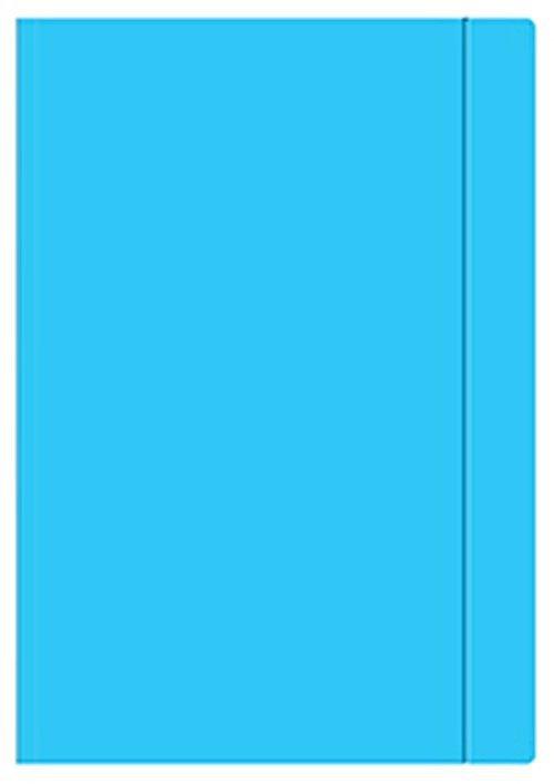 Teczka rysunkowa A3 na gumkę NIEBIESKA (06565)