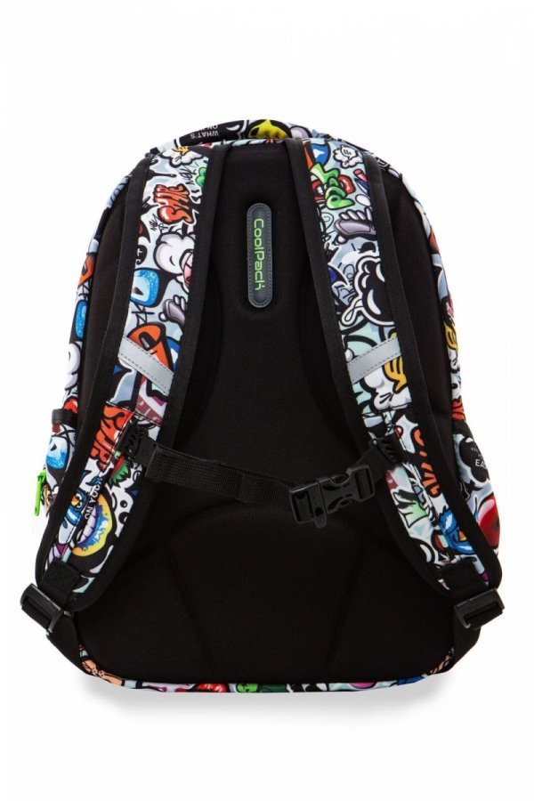 Plecak CoolPack LED JOY M GRAFFITI (94429)