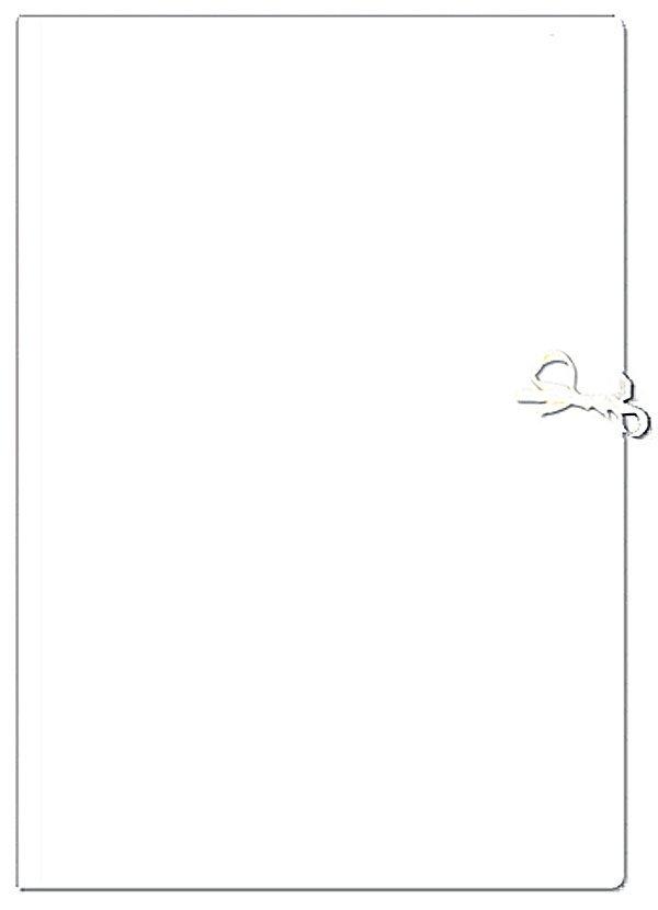 Teczka rysunkowa A4 WIĄZANA BIAŁA (21599)