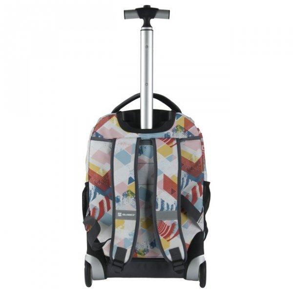 Plecak szkolny, młodzieżowy na kółkach DIRECTION, kolorowe strzaki PASO (171230UG)
