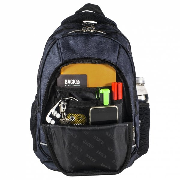 Plecak szkolny młodzieżowy Back UP kolorowe kropki MULTICOLOR DOTS + słuchawki (PLB1A3)