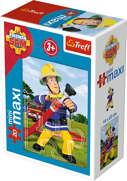 TREFL Puzzle miniMaxi 20 el. Strażak Sam (21007)