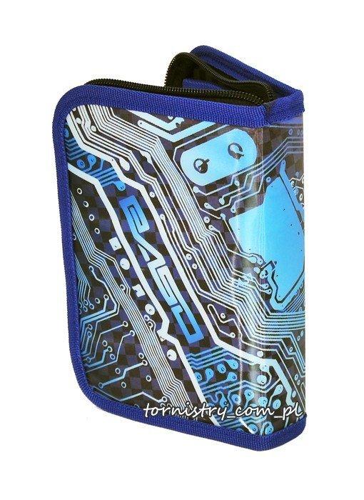 Piórnik podwójny z wyposażeniem Cyber Cars  (13S001C)