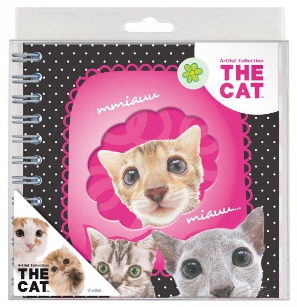 Pamiętnik spiralny The Cat (PSTK03)