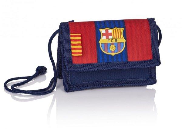 Portfelik saszetka na szyję FC BARCELONA FC-140 (504017001)