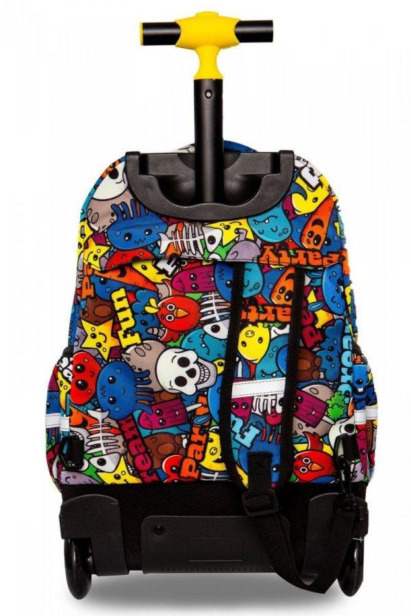 Plecak CoolPack LED JUNIOR na kółkach kreskówki CARTOON (94382)
