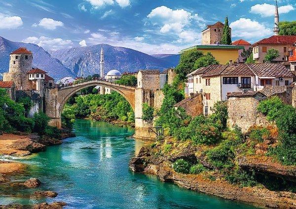 TREFL Puzzle 500 el. Stary Most w Mostarze, Bośnia i Hercegowina (37333)