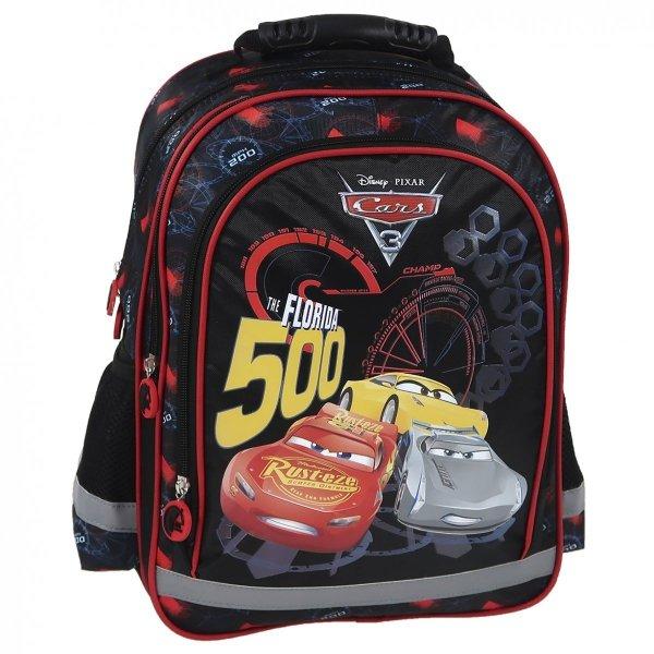 ZESTAW 11 el. Plecak szkolny CARS AUTA 3 (PL15BCA42)