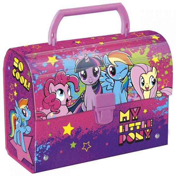 Zestaw Upominkowy 5 el. Kuferek oklejany My Little Pony Kucyki (KOLPSET)