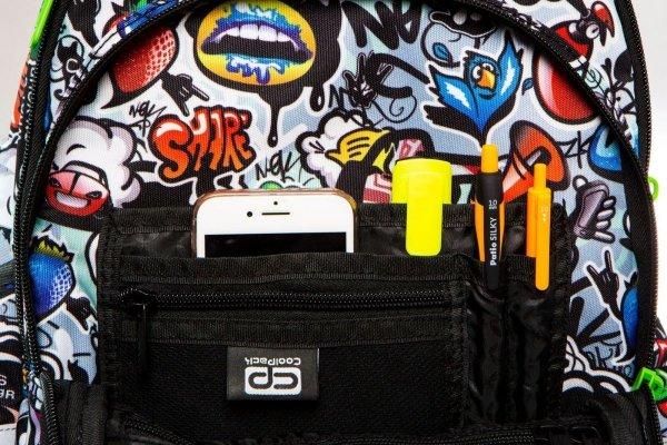 Plecak CoolPack LED JUNIOR na kółkach GRAFFITI (9443)