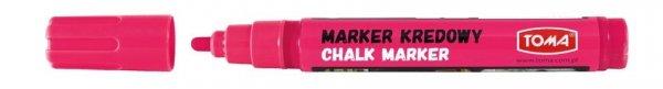 MARKER kredowy zmywalny TOMA, różowy (TO-292)
