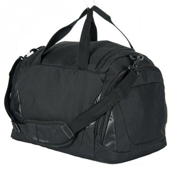 Torba sportowa BLACK, czarna PASO (17019UZ)