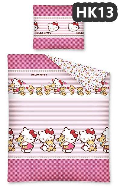 Komplet pościeli pościel Hello Kitty 140 x 200 cm (HK13DC)