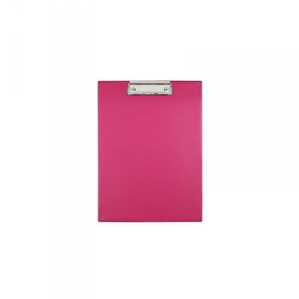 Clipboard Deska z klipsem klipem A4 RÓŻOWY (00038)