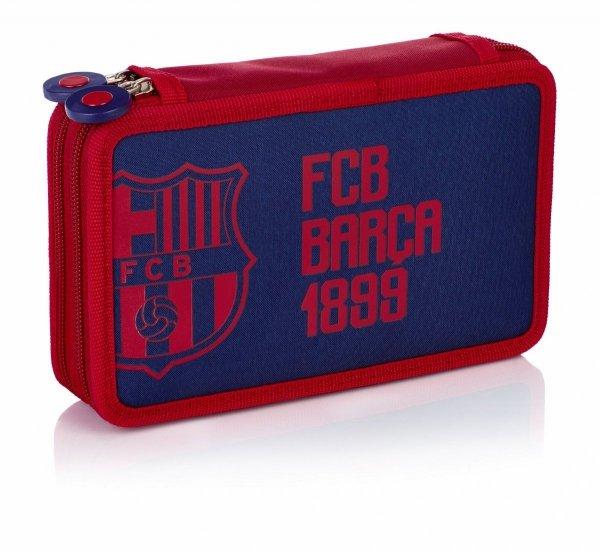 Piórnik dwukomorowy FC BARCELONA bez wyposażenia (503018004)