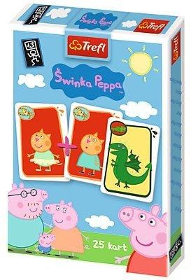 TREFL Gra karty PIOTRUŚ, Świnka Peppa (08277)