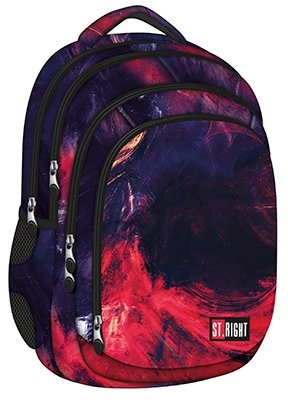 acc1cf9a3e085 Plecak szkolny ST.RIGHT młodzieżowy w płomienie