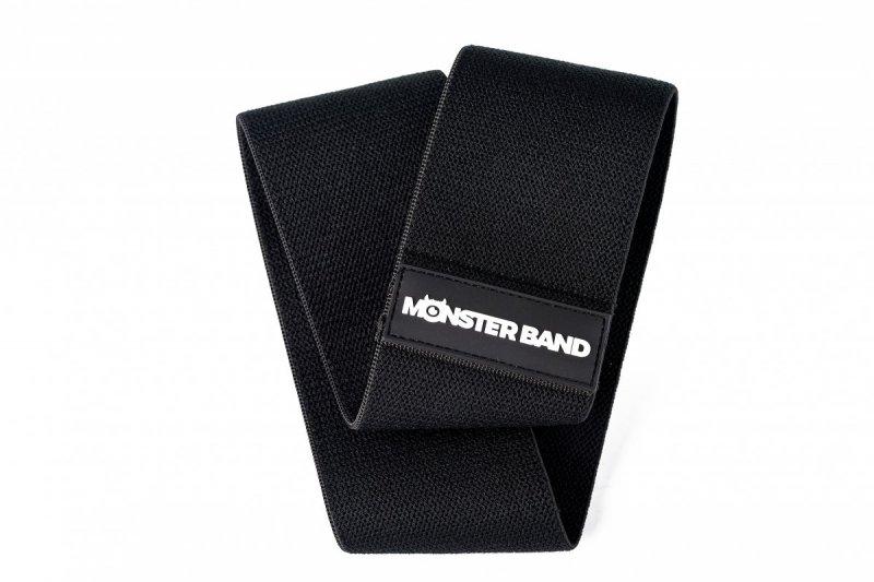 Guma do ćwiczeń z materiału - Monster Band Czarny