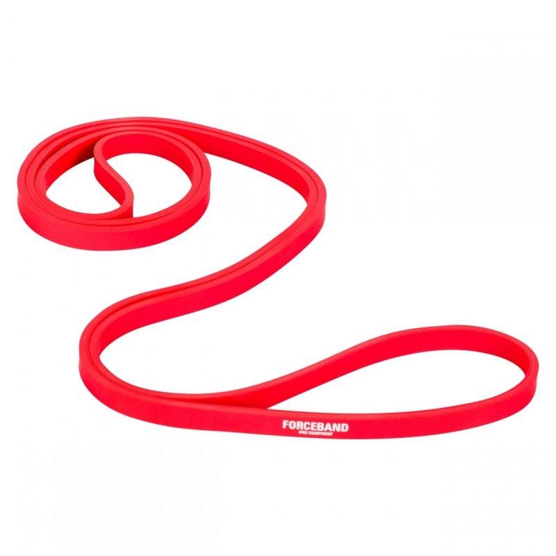 Gumy do ćwiczeń Mini Band Zestaw & Guma Power Band Czerwona