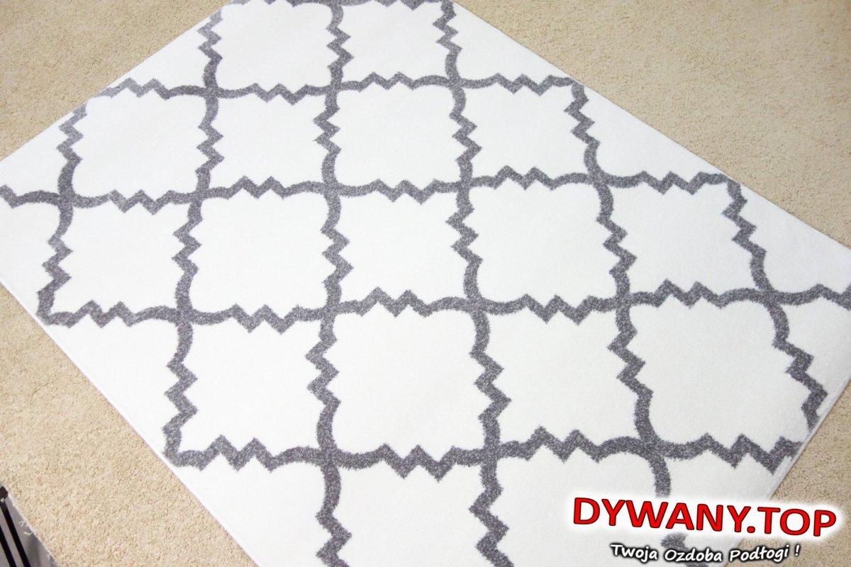 Dywan Sketch Creamgrey Kremowa Koniczynka Dywanytop