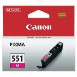 Canon oryginalny ink CLI551M, magenta, 7ml, 6510B001, Canon PIXMA iP7250, MG5450, MG6350, MG7550
