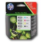 HP oryginalny ink C2P42AE, HP 932XL/HP 933XL, cyan/magenta/yellow/black, 825/1000s, 4szt, HP Officejet 6100, 6600, 6700, 7100